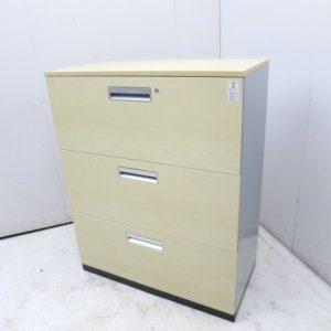 コクヨ エディアシリーズ ラテラル書庫 BWU-L3A59D10 W900xD450xH1120mm アウトレット品