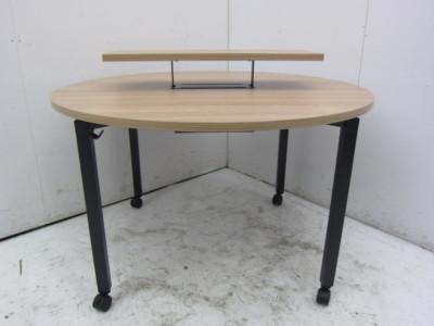 コクヨ インベントシリーズ ミーティング丸テーブル W1200xD1200xH720mm アウトレット品