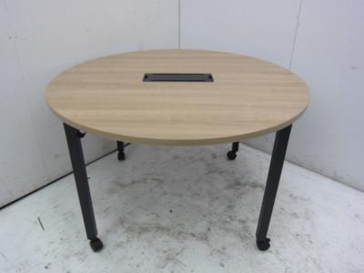 コクヨ インベントシリーズ ミーティング丸テーブル W1200xD700xH720mm アウトレット品