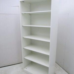 オカムラ レクトラインシリーズ オープン書庫 4B58ZZ-ZA75 W900xD450xH2150mm 中古品