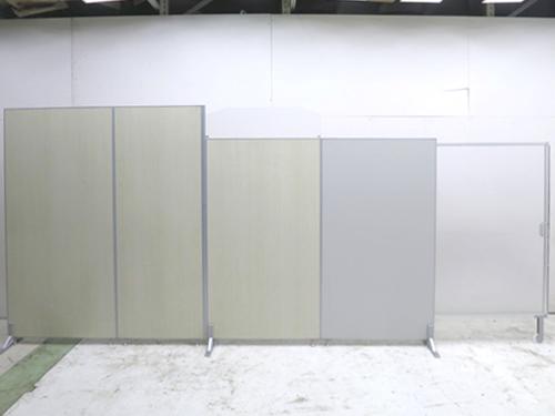 トーカイスクリーン E-placeシリーズ 4連自立パーテーション W900x3・W700xD400xH1870mm 中古品
