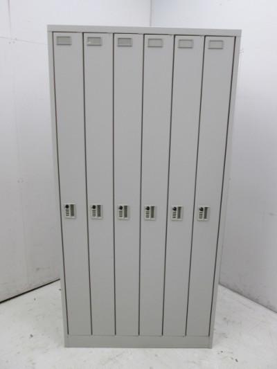 イトーキ WN型ロッカーシリーズ 6人用ロッカー HDWN-0961 W900xD515xH1790mm 中古品