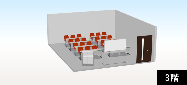 【追加納品】事例3 事務所+研修室(2フロア分) 5