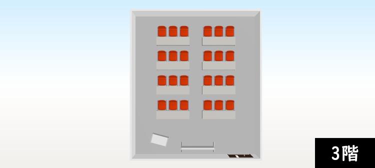 【追加納品】事例3 事務所+研修室(2フロア分) 7