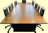 大型テーブル+ミーティングチェアセット