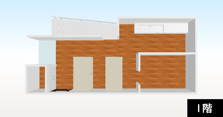 【追加納品】事例4 事務所+収納室(2フロア分) 2