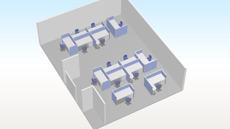 事例6 改装に伴いソーシャルディスタンスを考慮したレイアウト導入 3