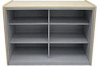 オープン書庫タイプハイカウンター