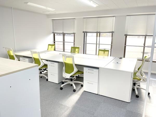 事例7 新規でオフィス家具一式を納品